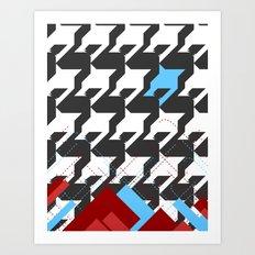 HoundsTeeth Art Print