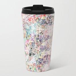 Madrid map Travel Mug