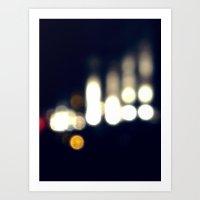 90 Degrees of Light Art Print