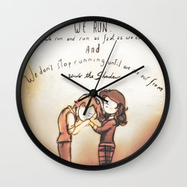 From Under the Shadow - [A Scribble] Wall Clock