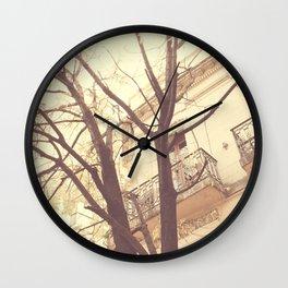 Incoming winter Wall Clock