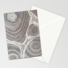 Pattern in stone Stationery Cards