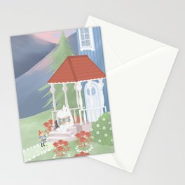 Spring in Moominvalley Stationery Cards