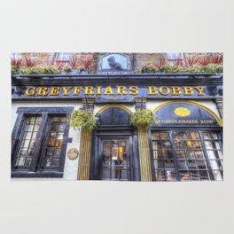 Greyfriars Bobby Pub edinburgh Rug