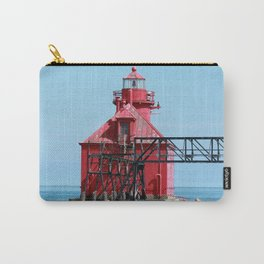 Sturgeon Bay Ship Canal North Pierhead Light House Carry-All Pouch