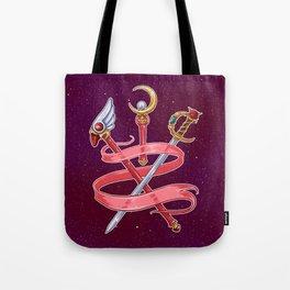 Fight Like a Magical Girl Tote Bag