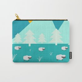 Grazing sheep Carry-All Pouch