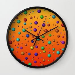little dots -1- Wall Clock