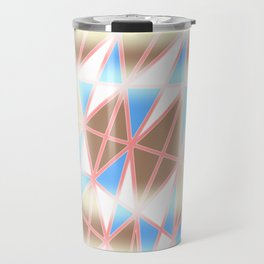 Pastel Tracery Travel Mug
