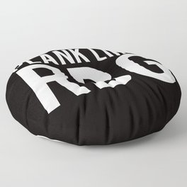 Plank like RBG Floor Pillow