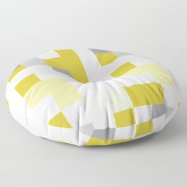 PIX YELLOW Floor Pillow