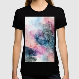 Heavenly Pastels: Original Abstract Ink Painting T-shirt