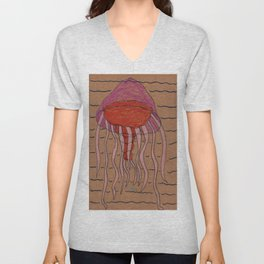Lion's Mane Jelly Unisex V-Neck