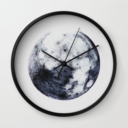 The Other Full Moon | Nature and Landscape Photography Wall Clock