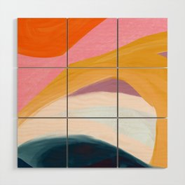 Let Go - no.36 Shapes and Layers Wood Wall Art