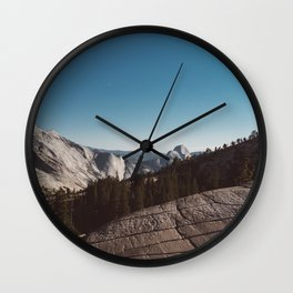 Olmsted Point, Yosemite National Park V Wall Clock