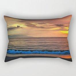 Sunset 1577 Rectangular Pillow