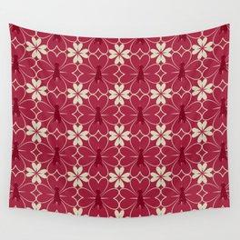 FLEUR DE COEUR Wall Tapestry