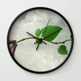 Eco life concept Wall Clock
