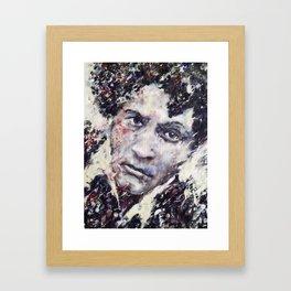 Portrait Marc Chagall Framed Art Print