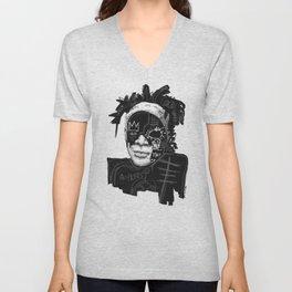 Jean-Michel Basquiat Unisex V-Neck