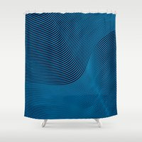 neon Shower Curtains featuring Neon by AZRI AHMAD