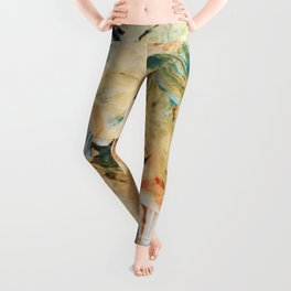 It's Paint. Leggings