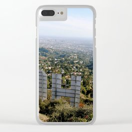 hollywood heights Clear iPhone Case