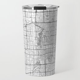 Beijing Map Line Travel Mug