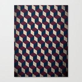pop cube Canvas Print