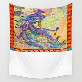 Feathery Dreams Wall Tapestry