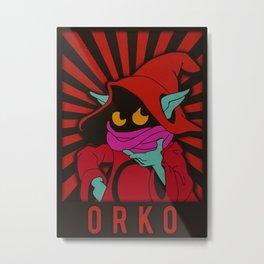 Orko Metal Print