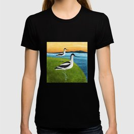Two Avocets In Suffolk T-shirt
