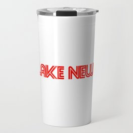 flake news Travel Mug