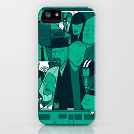 Breaking Bad (green version) iPhone Case