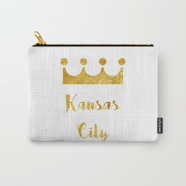 Stay Golden   Kansas City Carry-All Pouch