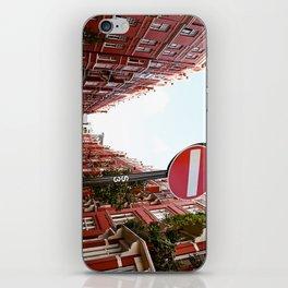 london calls iPhone Skin
