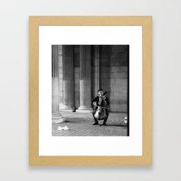Musical Magic at the Louvre Framed Art Print