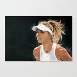 Elina Svitolina Canvas Print