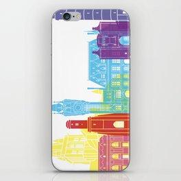 Calais skyline pop iPhone Skin