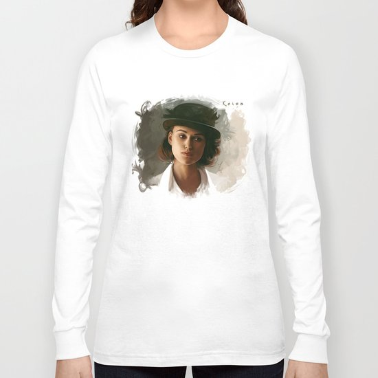 Keira Knightley in hat Long Sleeve T-shirt