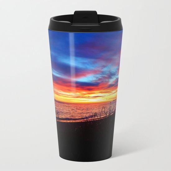 Sunrise on Sainte-Anne-Des-Monts Metal Travel Mug