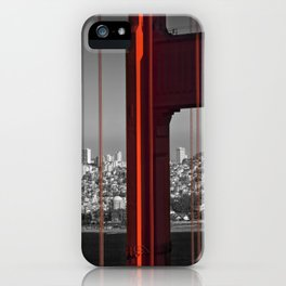 Golden Gate Bridge | Panoramic Downtown View iPhone Case