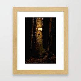 tree 9 Framed Art Print