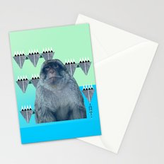 Barbary Ape Stationery Cards