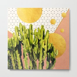 Cactus Dream #society6 #decor #buyart Metal Print
