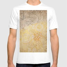 Sunny Cases XI White Mens Fitted Tee MEDIUM