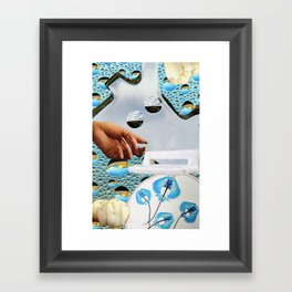 Photon's Futon Framed Art Print
