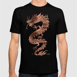 Chinese Dragon – Rose Gold Palette T-shirt