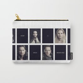Every Story Needs a Memorable Detail Carry-All Pouch